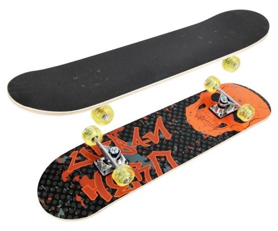 """Скейтборд """"Skull"""" 79*20 см. PU колеса"""