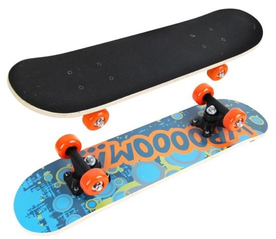 """Скейтборд """"Wroom"""" 60*15 см. ПВХ колеса"""