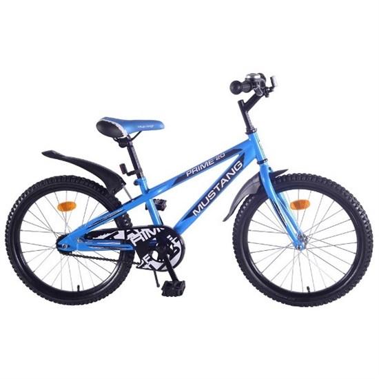 "Велосипед ""MUSTANG"" 20"" син/черн ST20116-V"