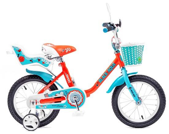 """BLACK AQUA Велосипед """"SWEET"""" 18"""" KG1803"""