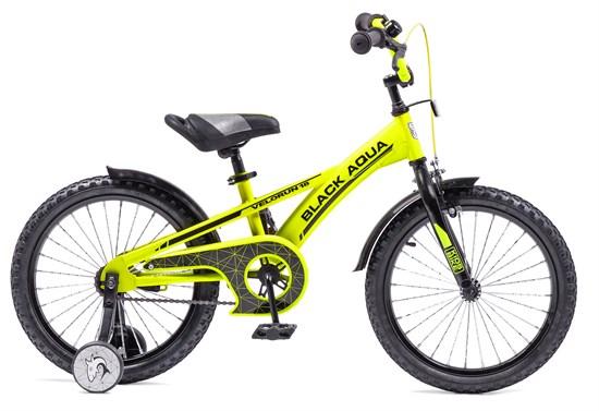 "BLACK AQUA Велосипед ""VELORUN"" 20"" со свет. колесами KG2019"