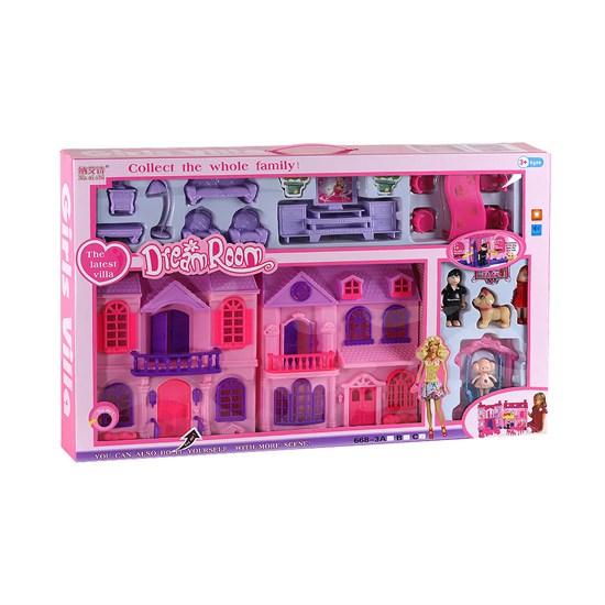 Дом для кукол, в/к 70*9*49 см JB202116