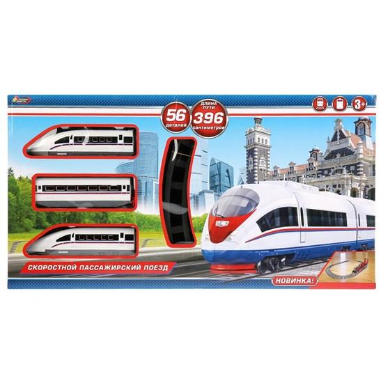 Железная дорога длина полотна 396 см 58*30,5*5см Играем вместе 1611B136-R