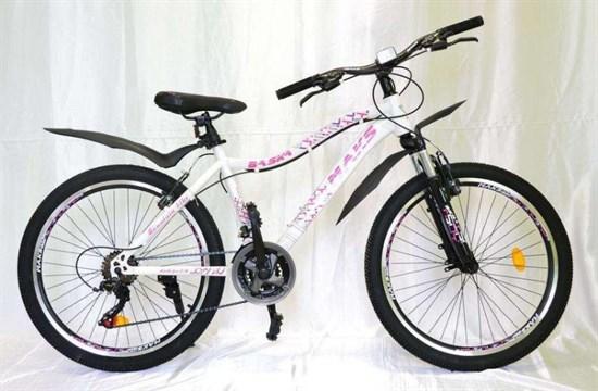 """Велосипед 24"""" MAKS """"BASKA"""" MD 21 скорость Рама 16 цвет белый"""