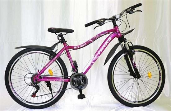 """Велосипед 24"""" MAKS """"BASKA"""" MD 21 скорость Рама 16 цвет розовый"""