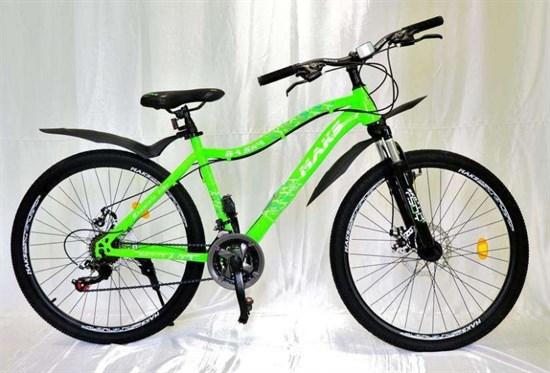 """Велосипед 24"""" MAKS """"BASKA"""" MD 21 скорость Рама 16 цвет зеленый"""
