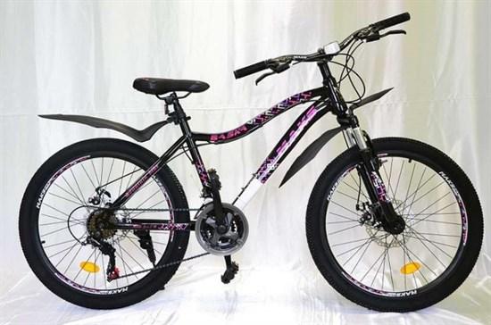 """Велосипед 24"""" MAKS """"BASKA"""" MD 21 скорость Рама 16 цвет черный"""