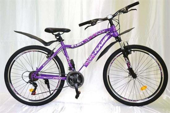"""Велосипед 24"""" MAKS """"BASKA"""" MD 21 скорость Рама 16 цвет фиолетовый"""