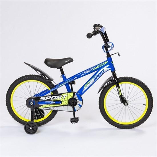 "Велосипед 16"" ZIGZAG ""CROSS"" цвет Синий"
