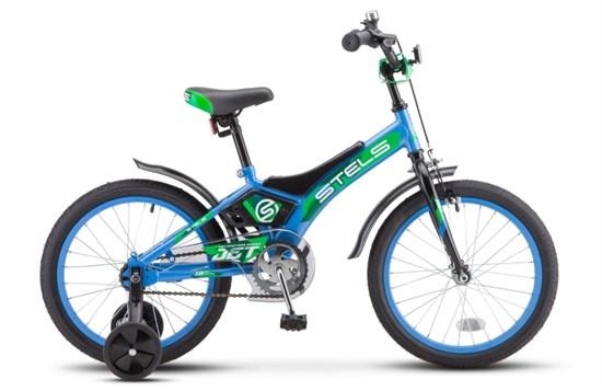 """Велосипед 18"""" STELS """"Jet"""" Цвет Голубой/зеленый"""