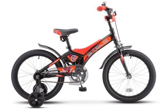 """Велосипед 18"""" STELS """"Jet"""" Цвет Черный/оранжевый"""