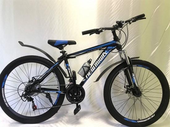 """Велосипед 26"""" NEWMIWA MD 21 скорость Рама 17 цвет черно/синий"""