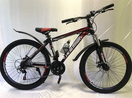 """Велосипед 26"""" NEWMIWA MD 21 скорость Рама 17 цвет черно/красный"""