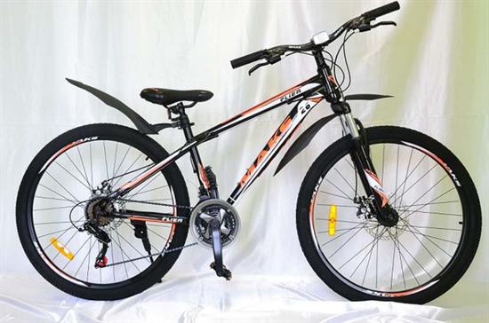 """Велосипед 26"""" MAKS """"FLIER"""" MD 21 скорость Рама 13 цвет оранжевый"""