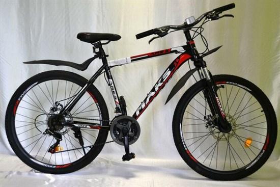 """Велосипед 26"""" MAKS """"ARES"""" MD 21 скорость Рама 19 цвет черно-красный"""