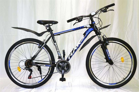 "Велосипед 26"" MAKS ""ARES"" MD 21 скорость Рама 19 цвет черно-синий"