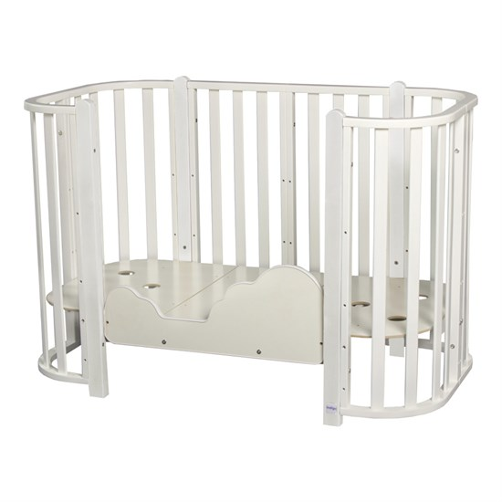 Кровать детская BRIONI 4 в 1 кровать-манеж-диванчик-люлька - фото 42261