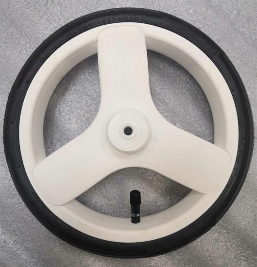 """Колесо 10"""" переднее поворотное 48х188 """"Riko Aicon"""" диск белый"""