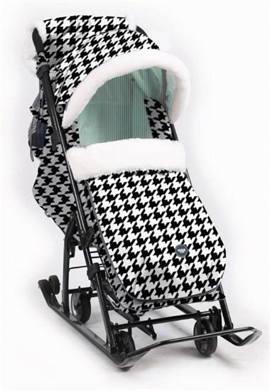 НИКА Санки-коляска с выдвижными колесами 7-5