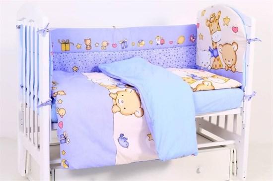 """Комплект постельного белья """"Топотушки"""" Детский Мир (6 предметов) 619"""