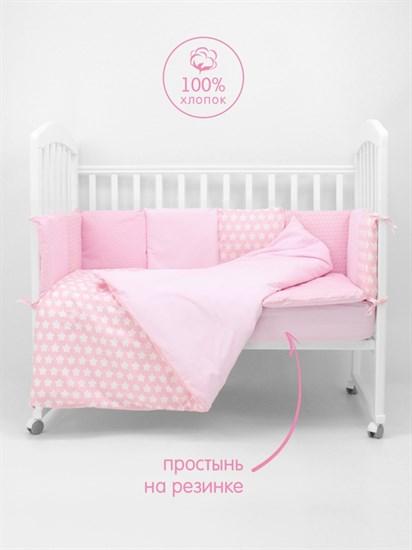 """Комплект постельного белья """"Топотушки"""" 12 месяцев (6 предметов) 661"""