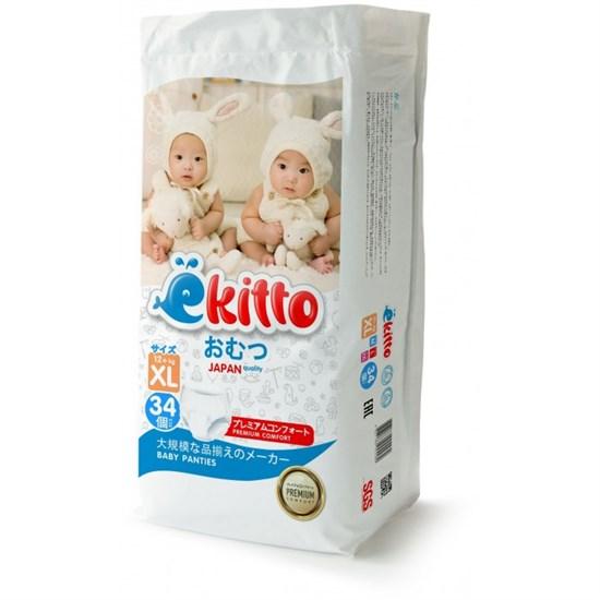 "Подгузники-трусики EKITTO PREMIUM ""XL"" (12+ кг.) 34 шт."