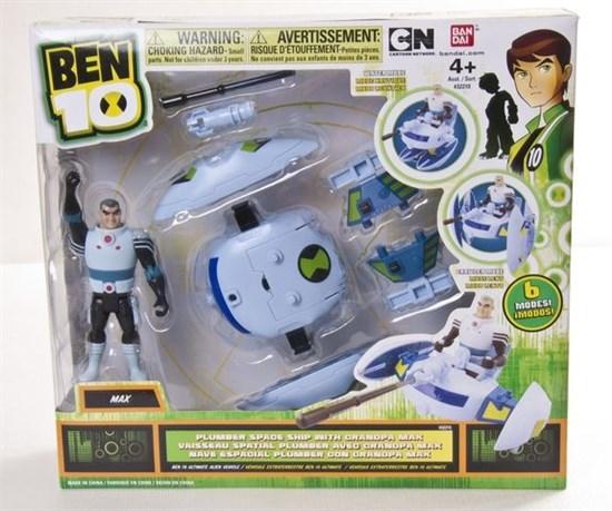 BEN10 Транспортное средство с фигуркой 10см 37965 - фото 5202