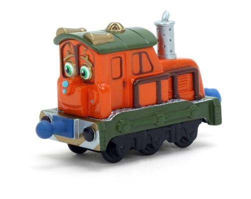 CHUGGINGTON Die-Cast, Паровозик Калли с прицепом LC54005