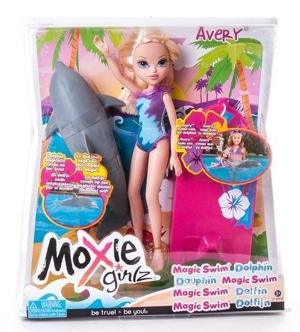 """MOXIE GIRLZ Кукла """"С плавающим дельфином, Эйвери"""" 503125"""