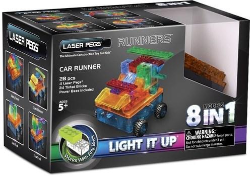 "LASER PEGS Конструктор ""Модель с колёсами"" Набор (8 в 1) rn1320b - фото 6498"