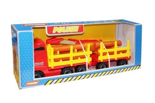 ПОЛЕСЬЕ Автомобиль-лесовоз с прицепом (в коробке) 9500