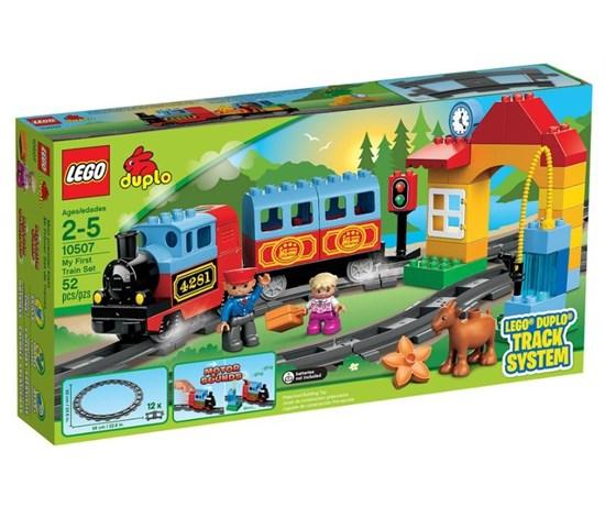 """LEGO Конструктор """"DUPLO. Мой первый поезд """" 10507 - фото 6667"""