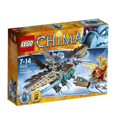 """LEGO Конструктор """"CHIMA. Ледяной планер Варди """" 70141 - фото 6841"""