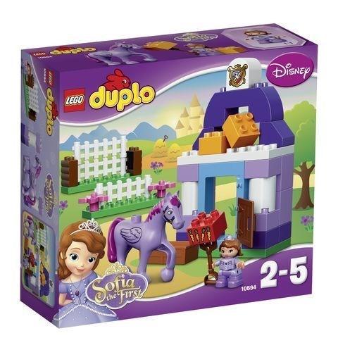 """LEGO Конструктор """"DUPLO. Прекрасная: королевская конюшня Софии """" 10594 - фото 6852"""