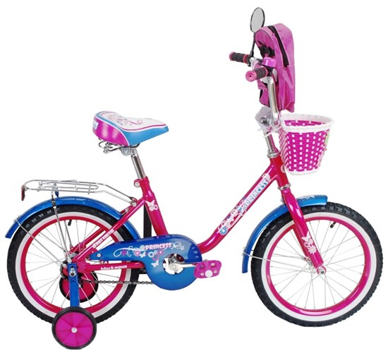 "BLACK AQUA Велосипед ""PRINCESS"" KG1602"