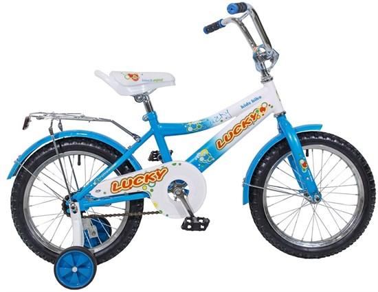"BLACK AQUA Велосипед ""LUCKY"" KG1818"