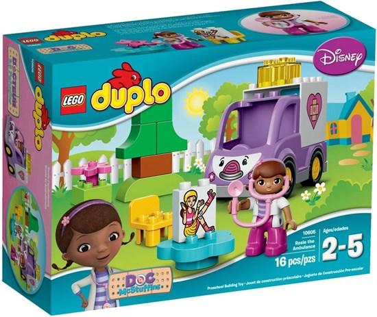 """LEGO Конструктор """"DUPLO. Скорая помощь Доктора Плюшевой"""" 10605"""
