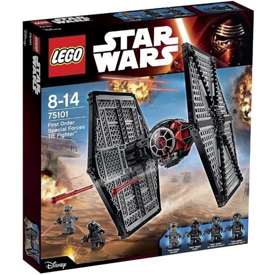 """LEGO Конструктор """"Star Wars. Истребитель особых войск Первого ордена"""" 75101 - фото 8596"""