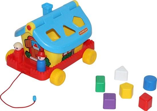 ПОЛЕСЬЕ Садовый домик на колёсиках (в сеточке) 56443