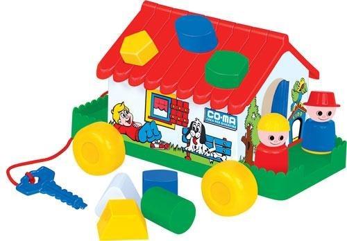 ПОЛЕСЬЕ Игровой дом (в сеточке) 6202