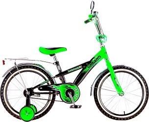 "BLACK AQUA Велосипед ""HOT ROD"" KG1806"