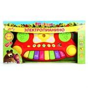 """УМКА Электропианино """"Маша и медведь"""" на бат. 2008-07"""