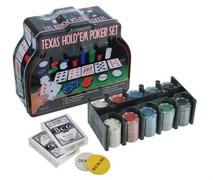 Набор для покера в мет. коробке 440630