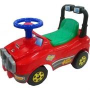 ПОЛЕСЬЕ Автомобиль Джип-каталка (красный) 62857