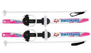 """ЦИКЛ Мини-лыжи """"Быстрики"""" с палками, длина 90 см."""