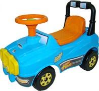 ПОЛЕСЬЕ Автомобиль Джип-каталка (голубой) 62840