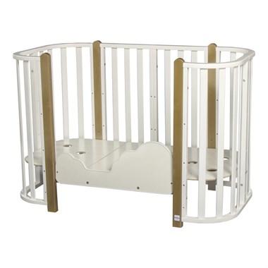 Кровать детская BRIONI 4 в 1 кровать-манеж-диванчик-люлька