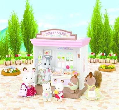 Совмещается с набором: 'Магазин игрушек' и 'Супермаркет'   Размеры коробки: 18х16х18 см В комплекте:  магазин с товаром, коробочки для упаковки конфет